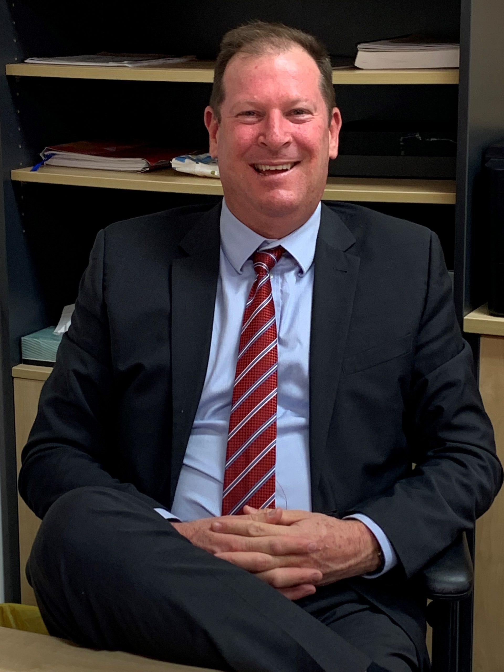 Mr Darren Parks, Principal