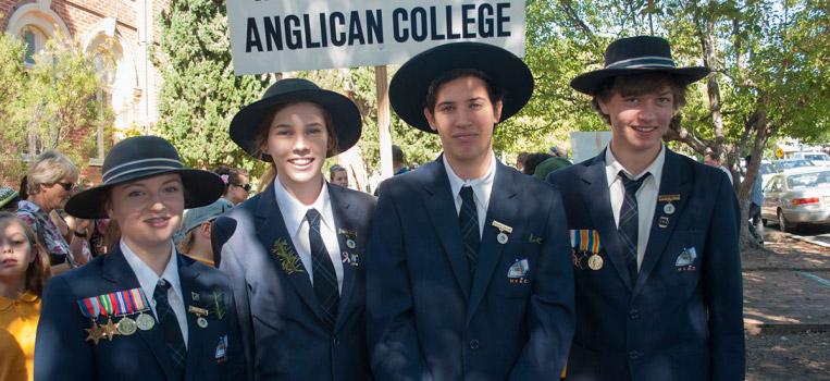 MVAC Marches for ANZAC Day